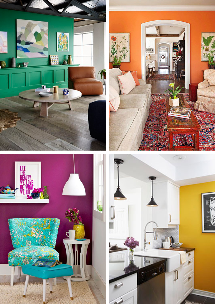 Bold Accent Walls