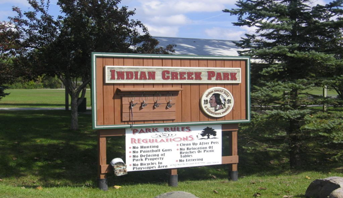 Indian Creek Park Walking Trail