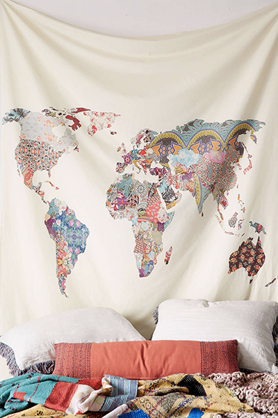 World Wall Tapestry