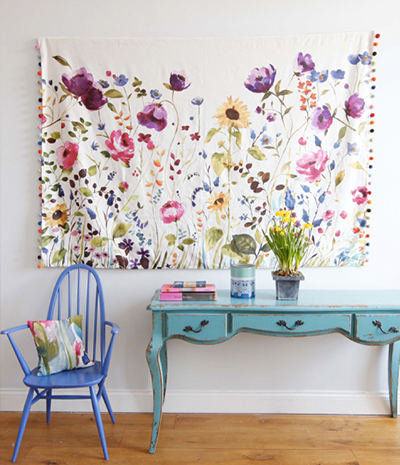 Floral Wall Tapestry