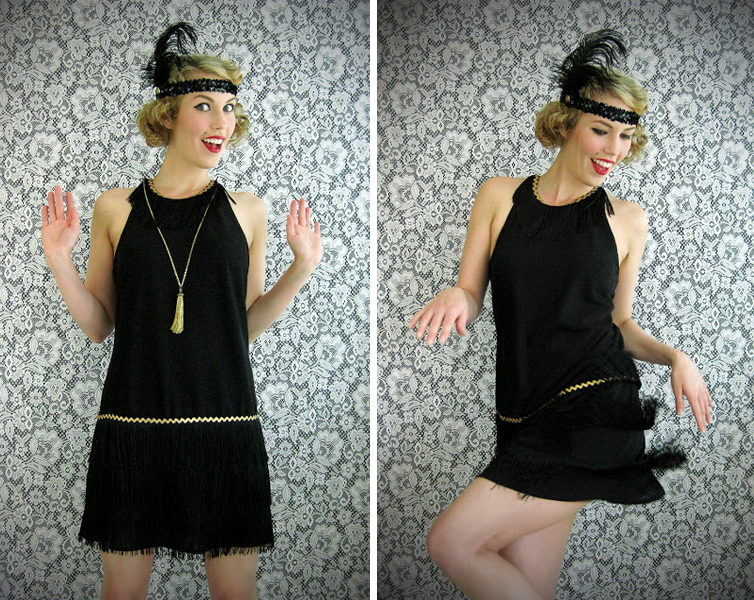 diy flapper costume - Halloween Costume Idea Women