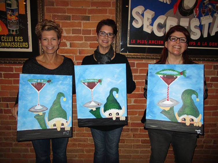 Wine and Canvas Toledo, Ohio