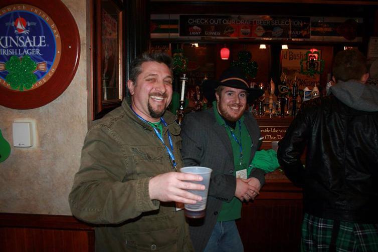 TASA St. Paddy's Day Pub Crawl