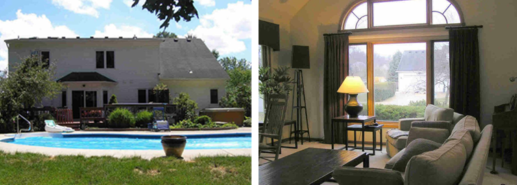 Homes with Pools in Toledo