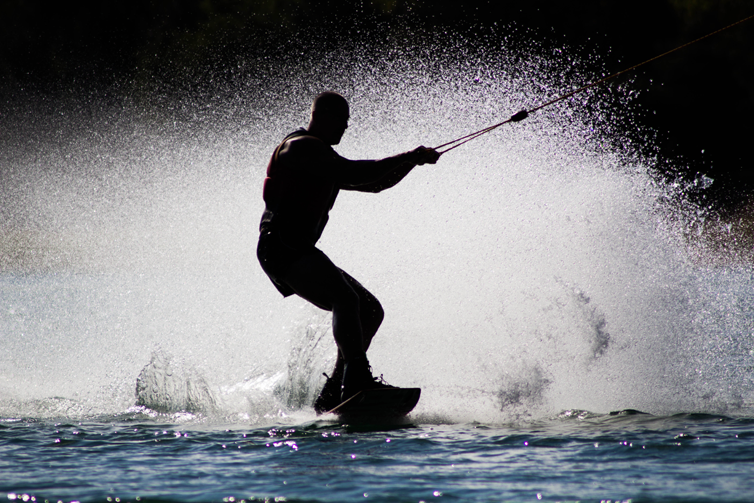 Wakeboarding the maumee river