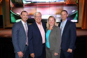 Danberry Owners (L to R) Kevin Warren, Lynn Fruth, Maggie Fawcett and Dan McQuillen