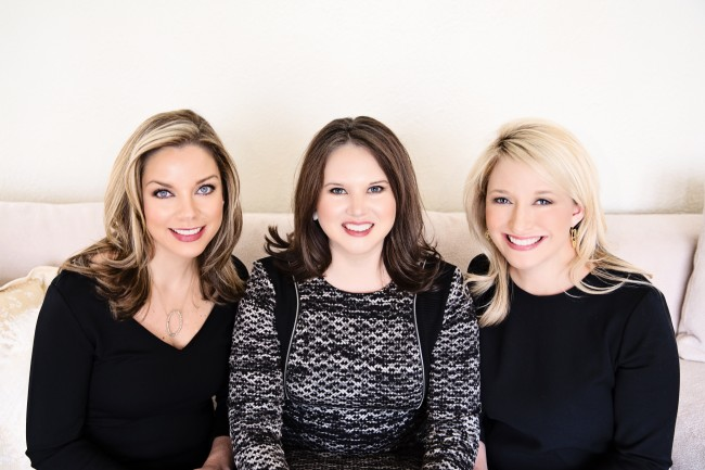 Haley Wagstaff, Heather Guild and Skylar Champion of the Heather Guild Group, all live, love and list in Lakewood and East Dallas