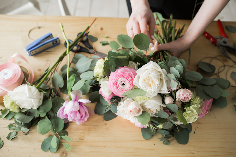 Create a Homemade Floral Arrangement for Mother's Day