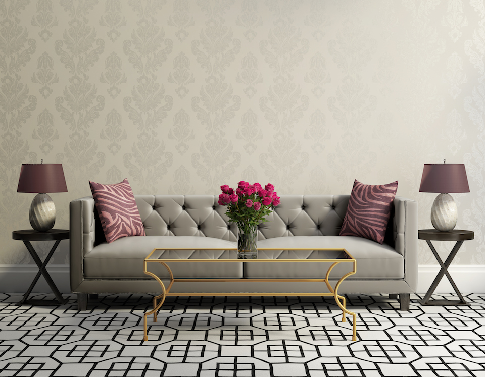 How to use bold patterns in a room