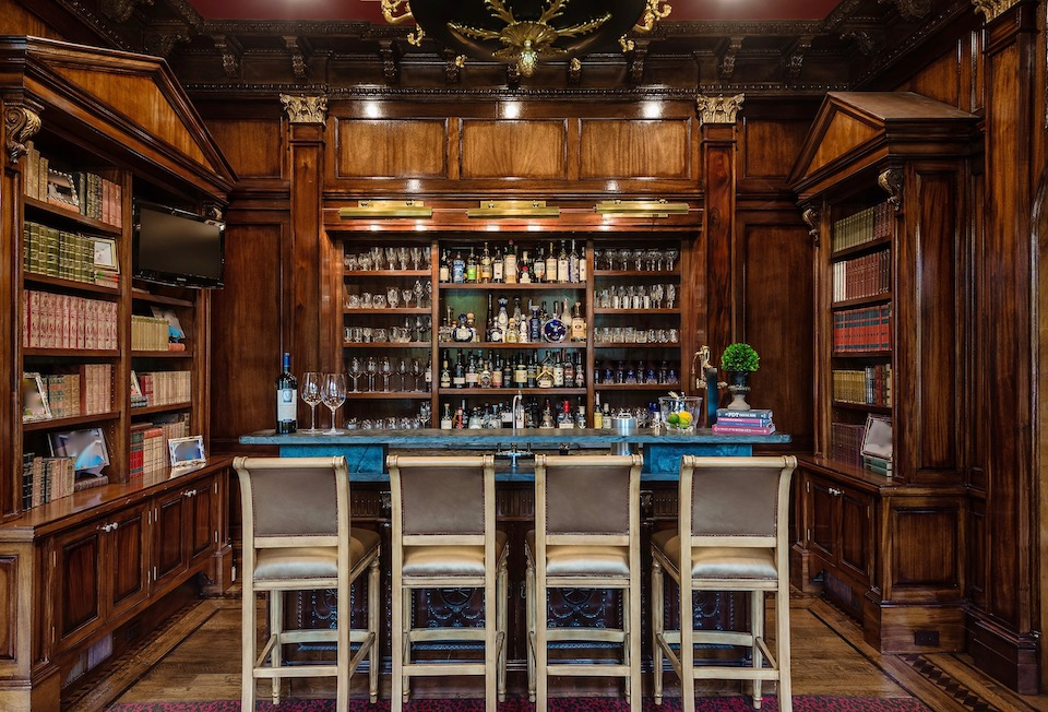 Five Fantastic In-Home Bars