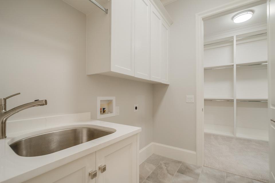 Seven Pristine Laundry Rooms