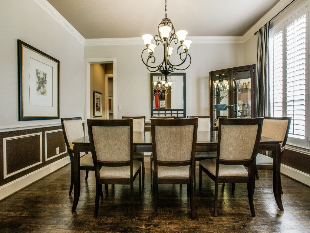 Fresh listing friday pristine in mckinney for Formal dining area