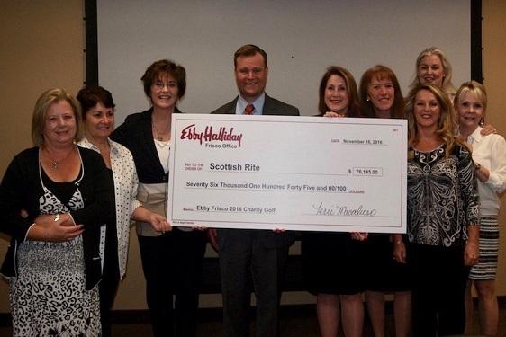 Ebby's Frisco Office Raises $76,000 for TSRHC