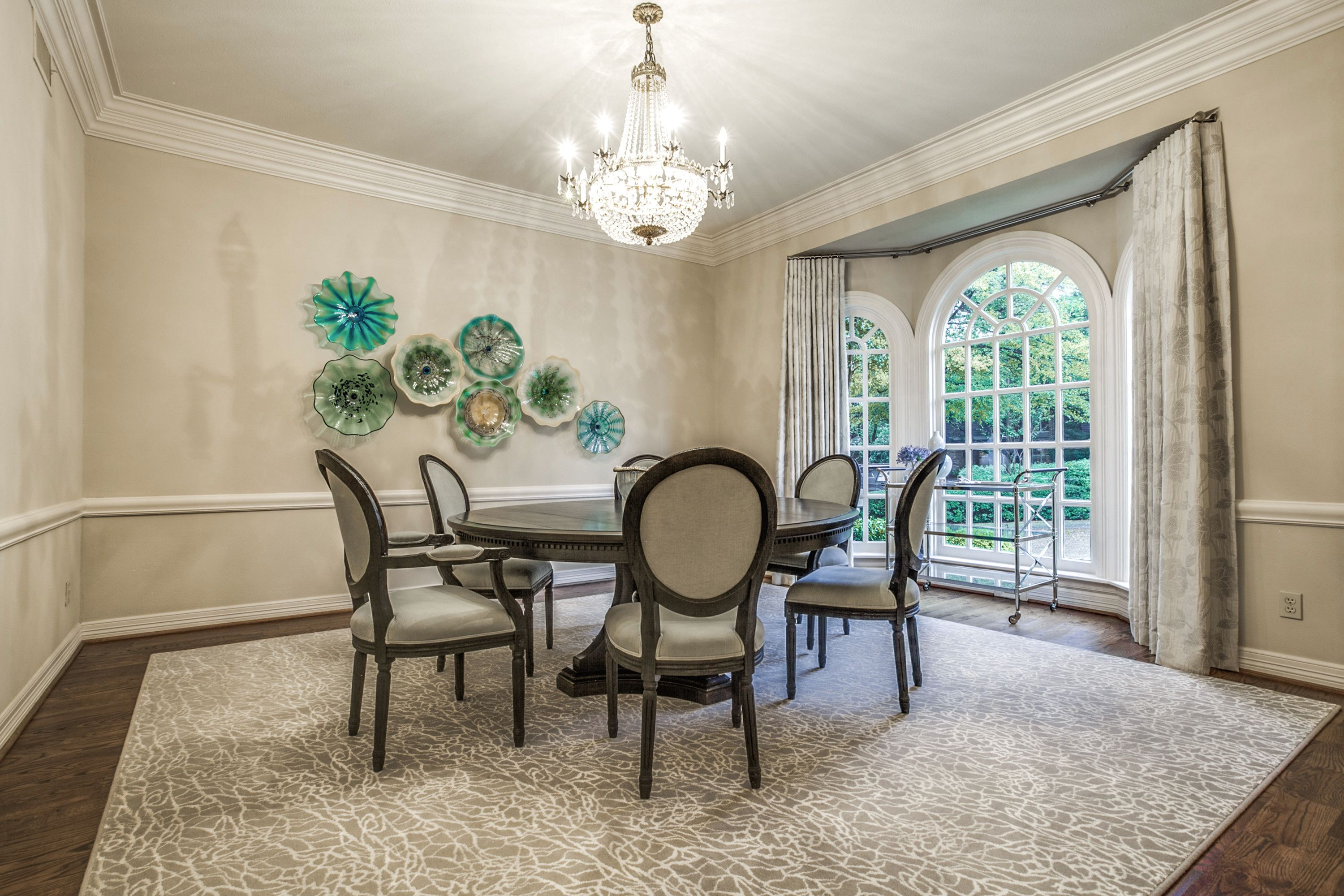 Fresh listing friday french comfort for Formal dining area