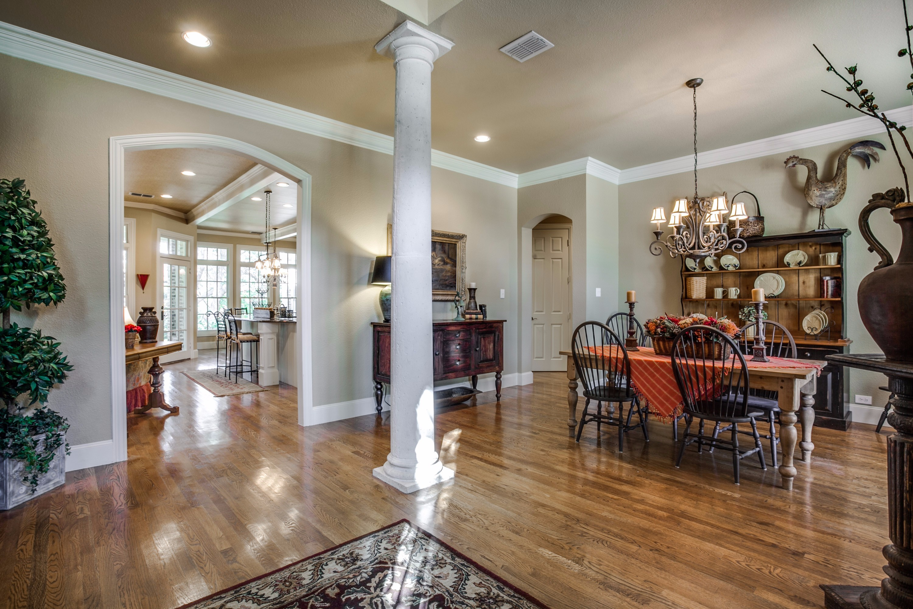 Fresh listing friday creekside curb appeal for Formal dining area