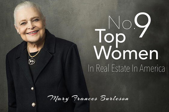Mary Frances Burleson Among Top Industry Execs