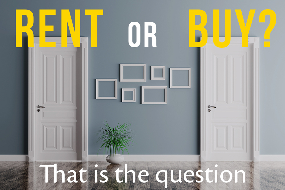 Renting vs. Buying: 5 Issues to Consider
