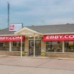 Ebby's Cedar Creek Lake Office Now Open