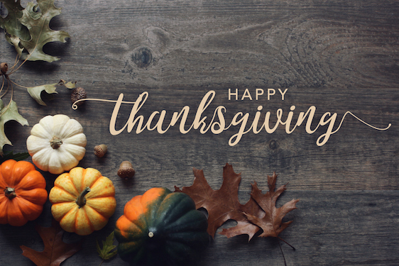 Happy Thanksgiving to You and Yours