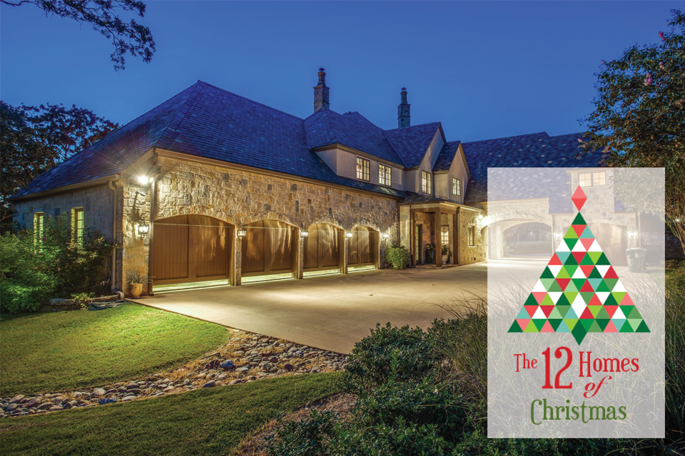 12 homes of christmas 5 car garage for 5 car garage