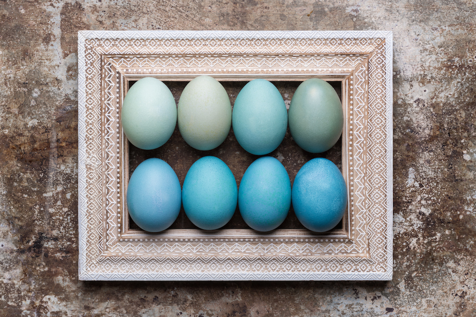 6 Design Inspired DIY Easter Eggs
