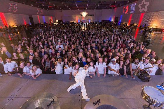 Party Kicks Off 75th Anniversary Celebration