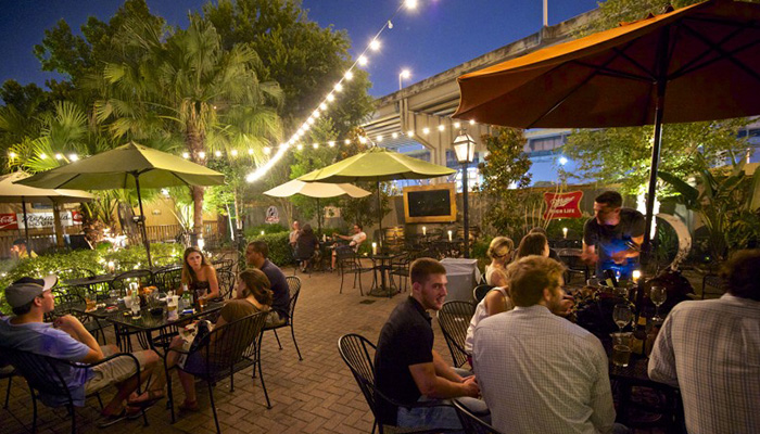 Superior ... Warehouse District And The Lower Garden District, The Rusty Nail  Combines The Best Of Both Neighborhoods. With One Of The Biggest Outdoor  Patios In Town ...