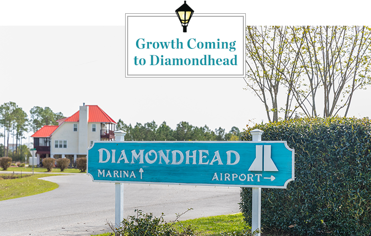 $135 Million worth of improvements are in the pipeline for Diamondhead, Mississippi, a coastal city seeing unprecedented growth!