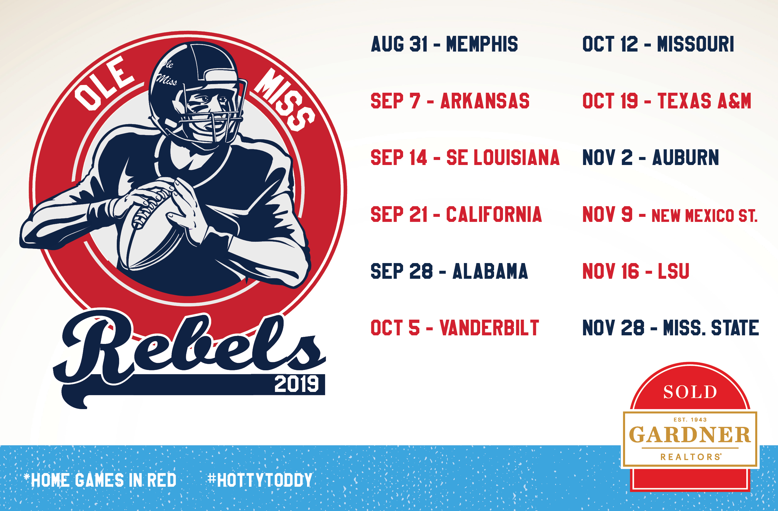 Ole Miss Schedule 2019