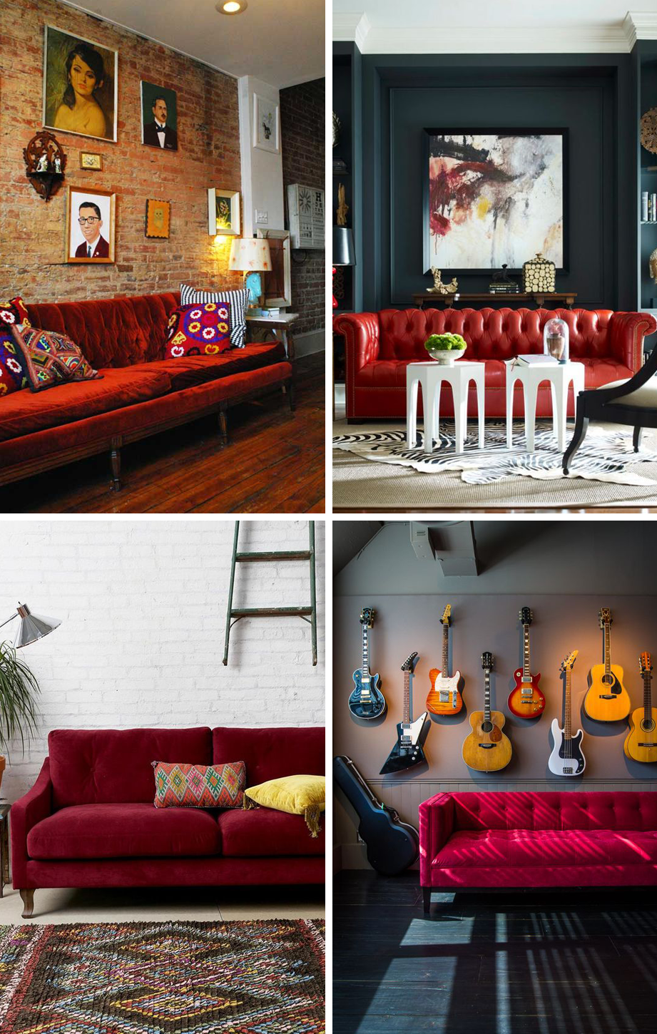 24 Colorful Couches That Make a Statement | Home Inspiration