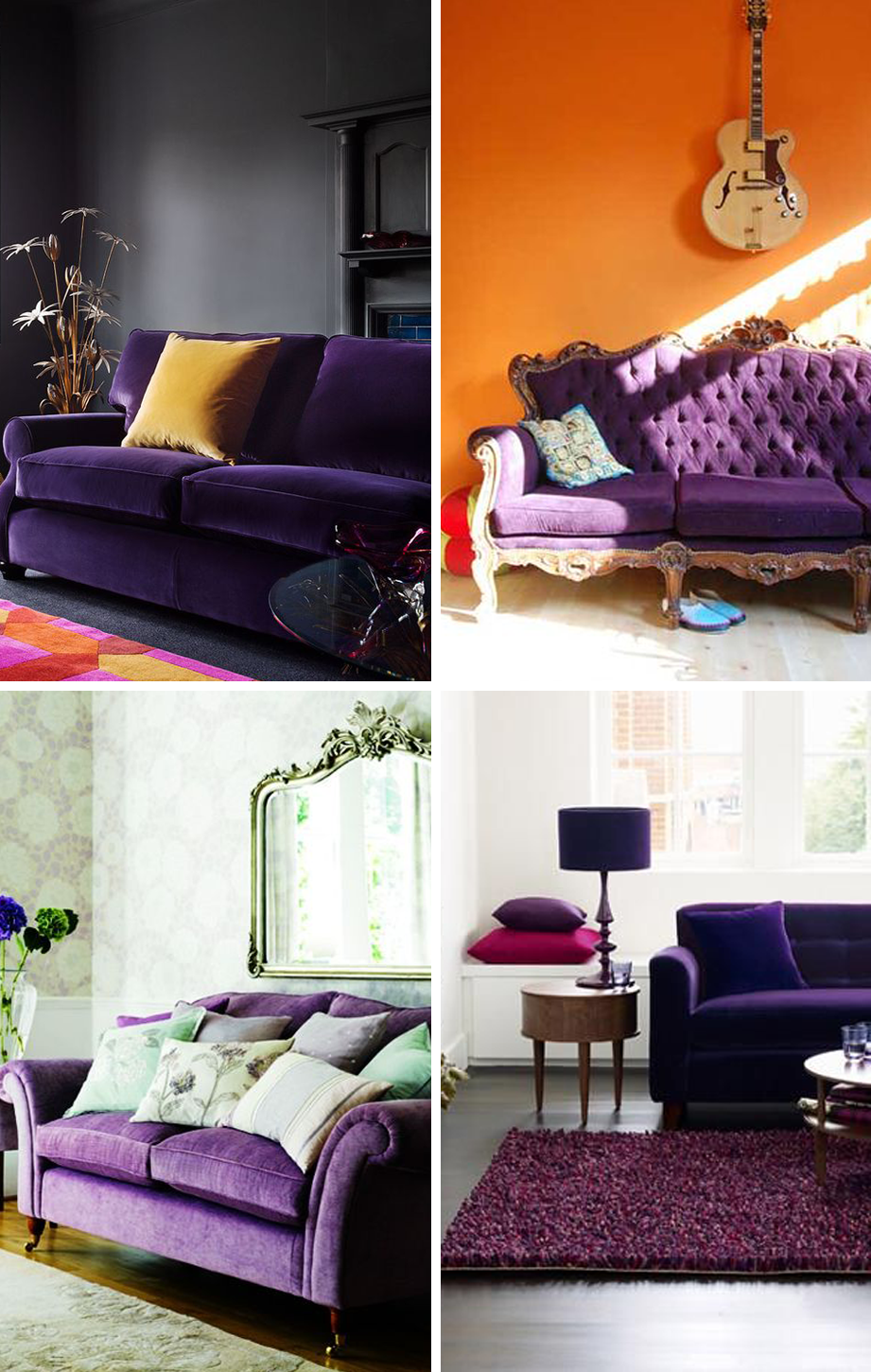Purple Couches