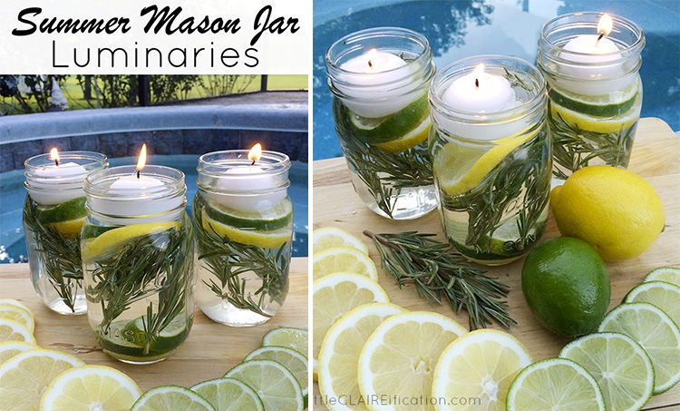 DIY Mason Jar Bug Repellent