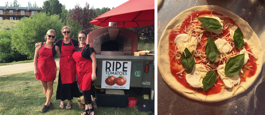 Ripe Tomatoes Wood Fired Pizza Food Truck