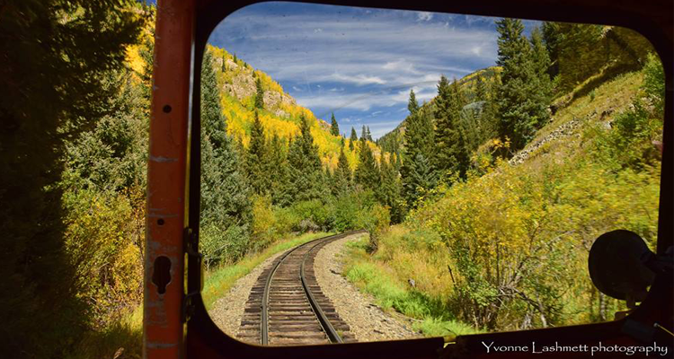 Fall Colorado Narrow Gauge Railroad