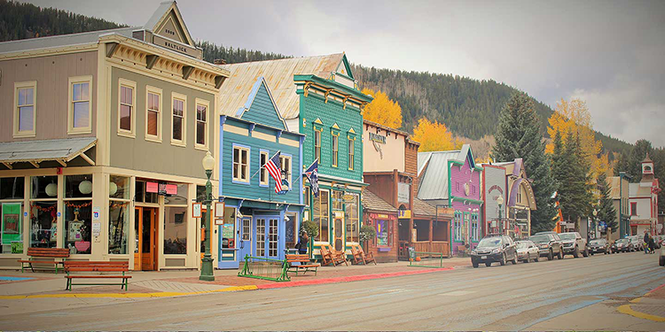 Colorado Mountain Towns in the Winter