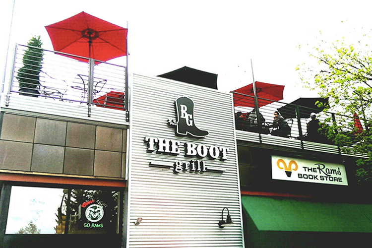 Top Outdoor Patios in Fort Collins | The Boot Grill
