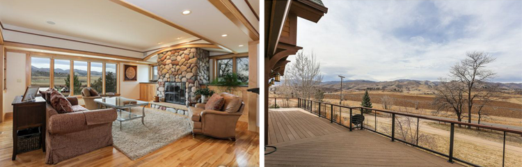 Northern Colorado Homes With a View