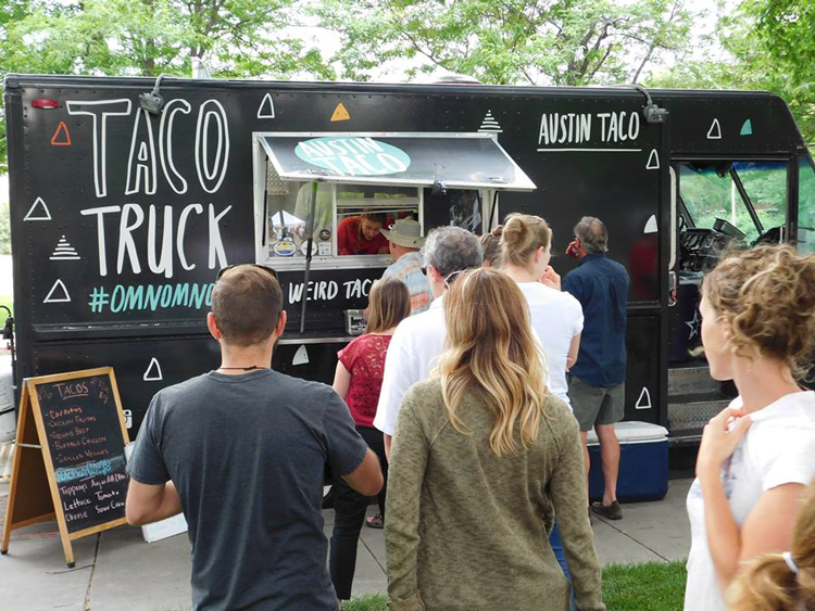 Austin Taco Food Truck Fort Collins Lagoon Summer Concert Series