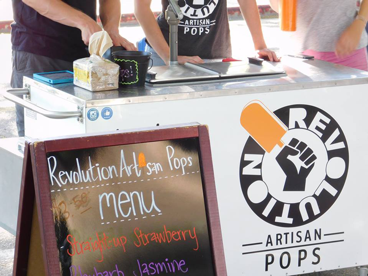 Revolution Artisan Pops Fort Collins Food Trucks Lagoon Summer Concert Series