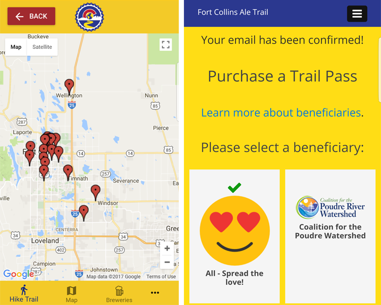 Fort Collins Ale Trail App