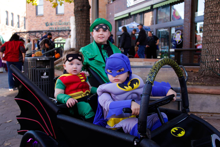 Downtown Fort Collins Old Town Tiny Tot Halloween