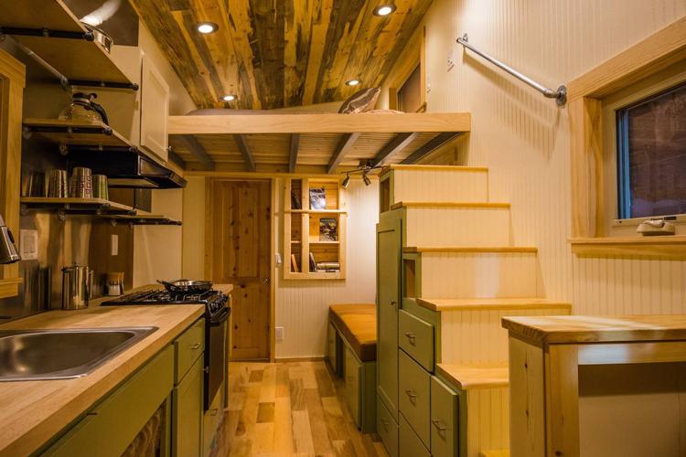 Tiny home airbnb rental Northern Colorado