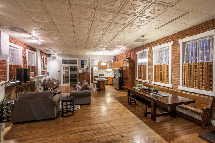 Downtown Fort Collins Old Town Loft Airbnb Rental
