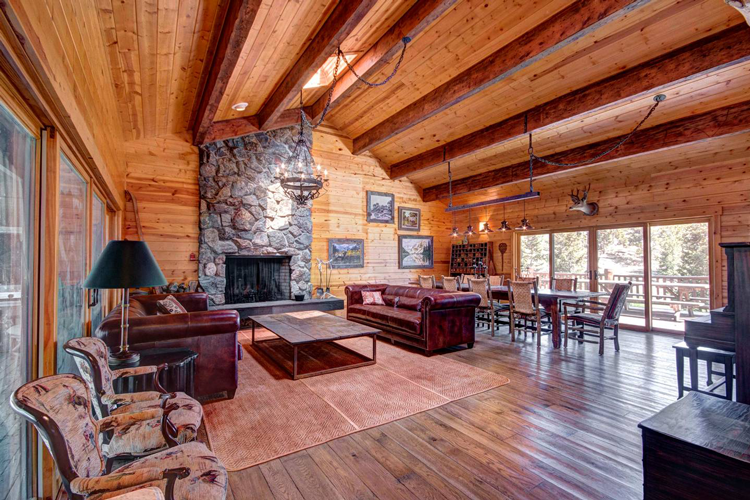 Spacious Mountain Lodge Rocky Mountain Getaway Airbnb Rental
