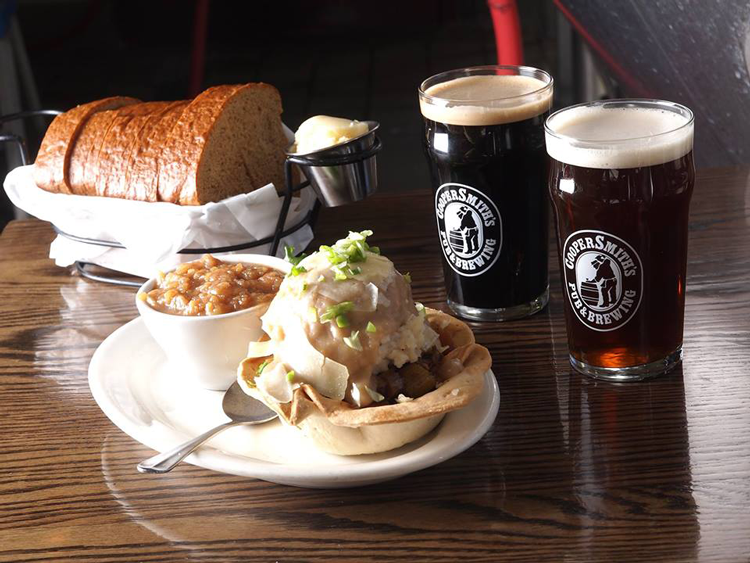 CooperSmith's Pub and Brewery in Old Town Place to host your holiday party in Fort Collins catering