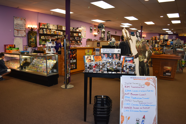 Gryphon Games and Comics in Fort Collins Colorado Old Town shops local