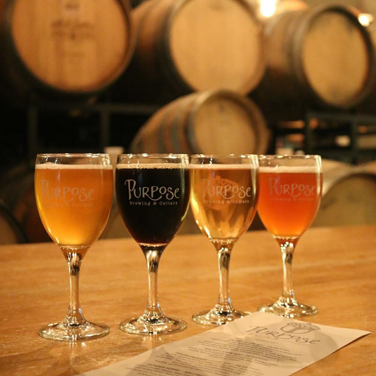 Purpose Brewing and Cellars Fort Collins craft beer Brewery