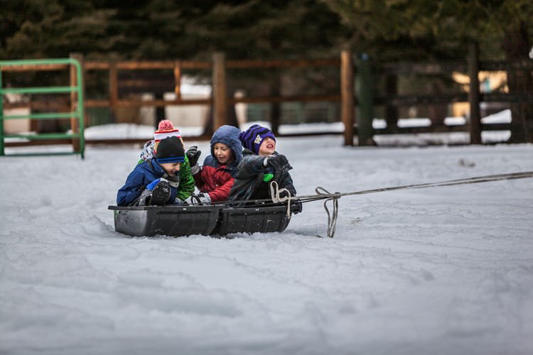 Sledding in Northern Colorado Fort Collins Loveland Greeley Sled Snow Sports