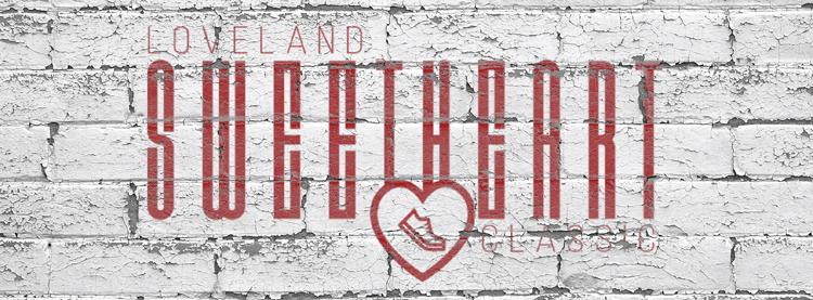 Loveland Sweetheart Classic Valentine's Day run Loveland Colorado