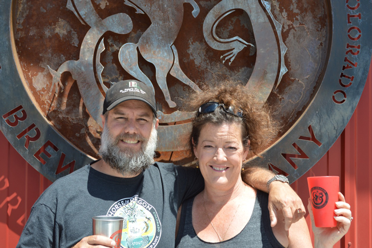 Tim and Carol Horse and Dragon Brewing Fort Collins Colorado